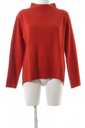 Hugenberg Wollpullover rot klassischer Stil