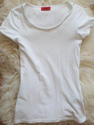 HUGO Basic T-Shirt Gr. 34 XS Business tailliert Rundhals Ausschnitt