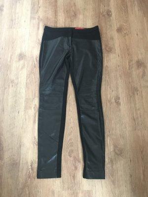 Hugo Boss Pantalón elástico negro tejido mezclado