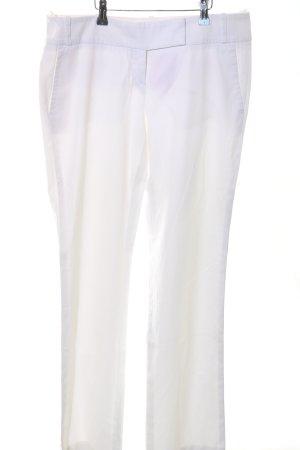 Hugo Boss Pantalon 7/8 blanc style décontracté