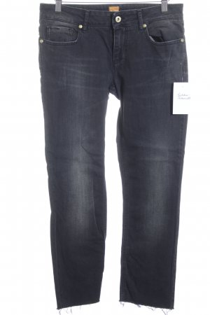 Hugo Boss 7/8 Jeans dunkelblau Casual-Look