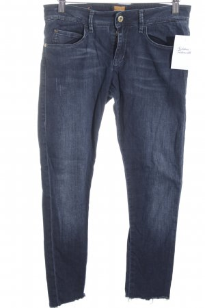 Hugo Boss 7/8 Jeans dunkelblau Casual-Look