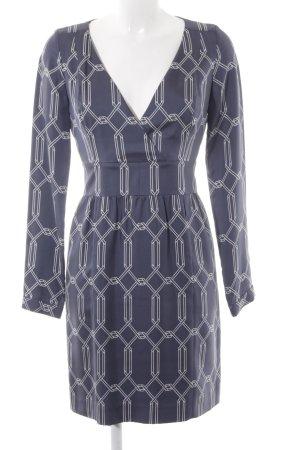 Hugo Boss A-Linien Kleid grafisches Muster Elegant