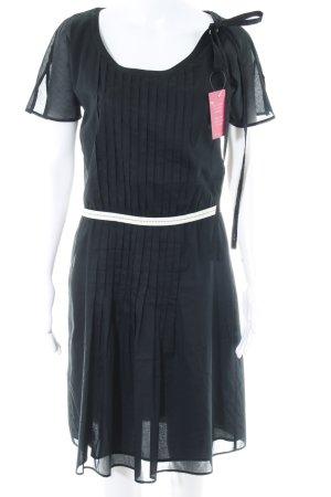 Hugo Boss A-Linien Kleid schwarz Paris-Look
