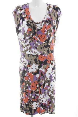 Hugo Boss Abendkleid abstraktes Muster klassischer Stil