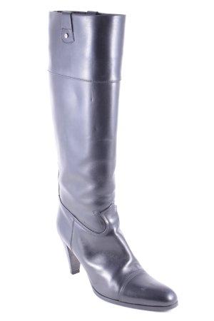 Hugo Boss Absatz Stiefel schwarz Eleganz-Look