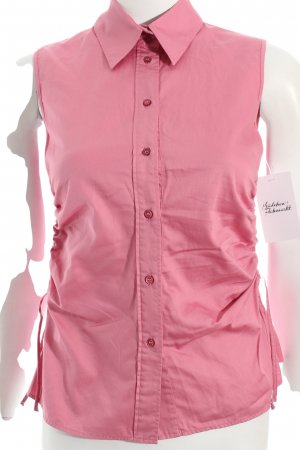 Hugo Boss ärmellose Bluse rosa klassischer Stil