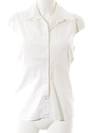 Hugo Boss ärmellose Bluse weiß Elegant