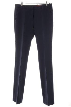 Hugo Boss Pantalone da abito blu scuro modello web stile casual