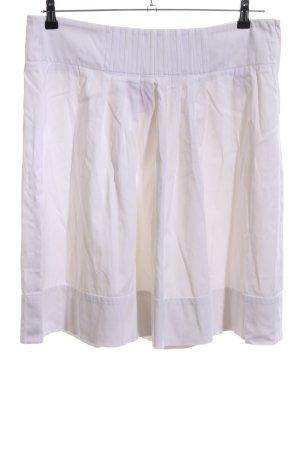 Hugo Boss Falda asimétrica blanco look casual