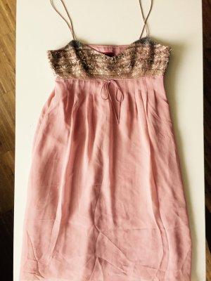 Hugo Boss Babydoll Kleid mit Pailletten