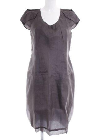 Hugo Boss Balloon Dress anthracite-grey casual look