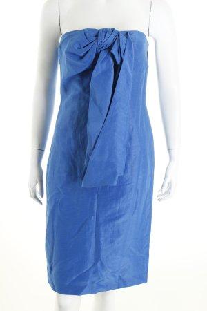 Hugo Boss Bandeaukleid kornblumenblau Eleganz-Look