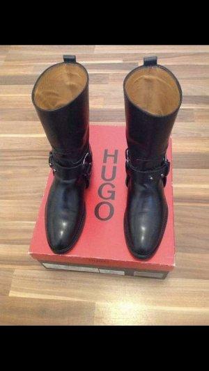 Hugo Boss Scarpa nero Pelle