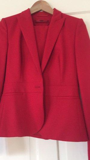 Hugo Boss Blazer in lana rosso-cachi Lana