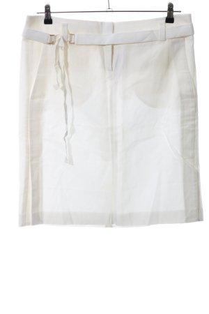 Hugo Boss Jupe crayon blanc cassé style d'affaires