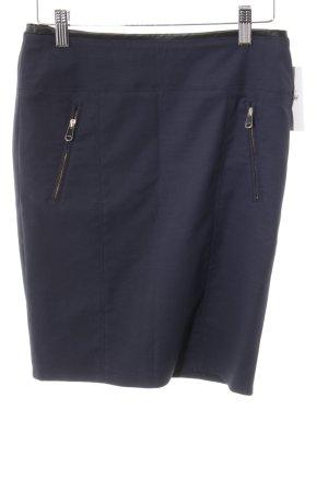 Hugo Boss Bleistiftrock dunkelblau Casual-Look