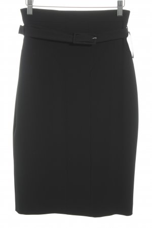 Hugo Boss Bleistiftrock schwarz Business-Look