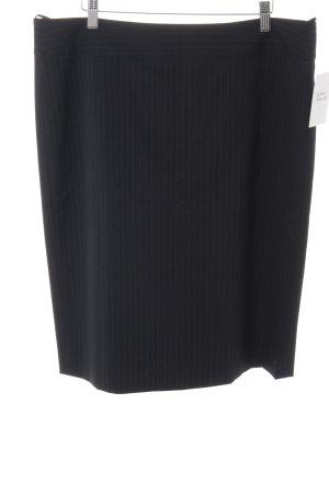 Hugo Boss Bleistiftrock schwarz-weiß Nadelstreifen Business-Look