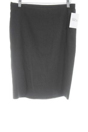 Hugo Boss Bleistiftrock schwarz-weiß Punktemuster Elegant