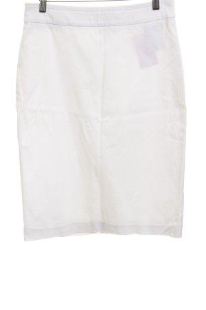 Hugo Boss Falda de tubo blanco puro estilo «business»