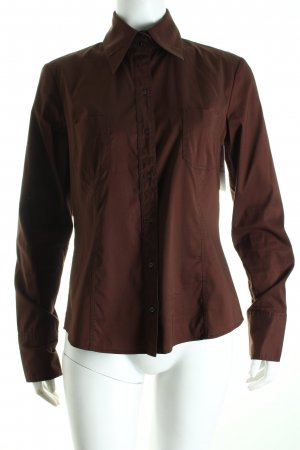 Hugo Boss Bluse cognac Business-Look