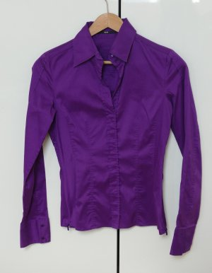 HUGO BOSS Bluse Gr. 34 lila - neuwertig