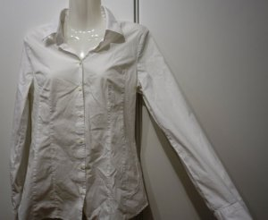 Hugo Boss Bluse Hemd Gr. 38 (S) Baumwolle weiß Business Clean Chic