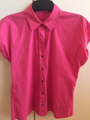 Hugo Boss Bluse pink elastisch