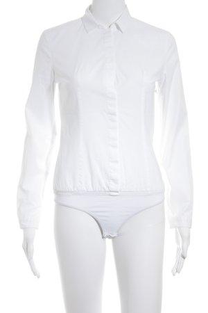 Hugo Boss Chemisier body blanc style d'affaires