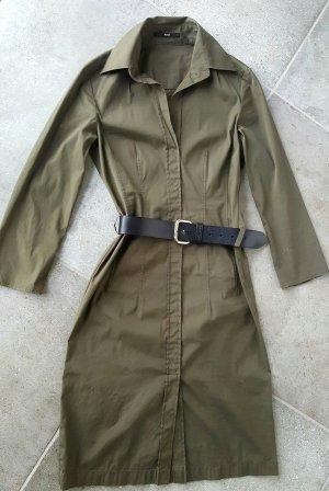 Hugo Boss, Blusen Kleid, Khaki, Gr.34