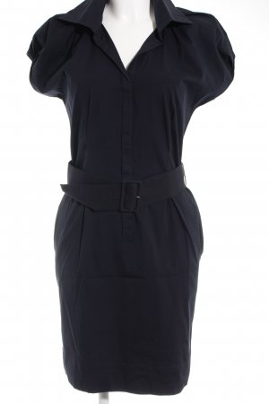 Hugo Boss Blusenkleid schwarz Business-Look