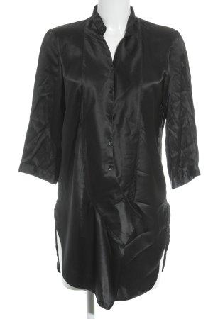 Hugo Boss Blusenkleid schwarz klassischer Stil