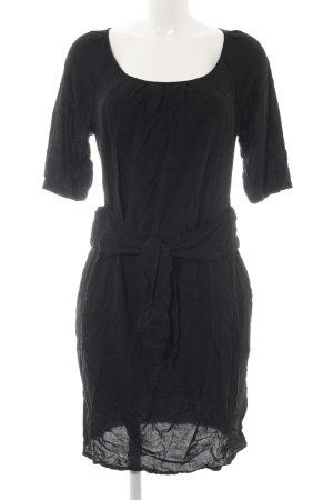 Hugo Boss Blusenkleid schwarz schlichter Stil
