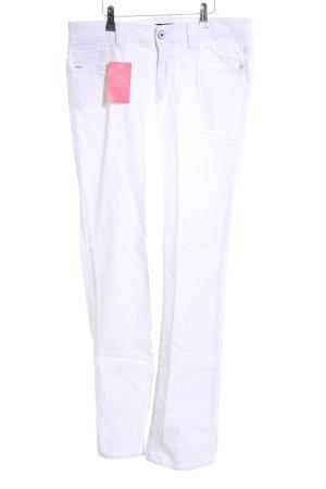 Hugo Boss Boot Cut spijkerbroek wit casual uitstraling