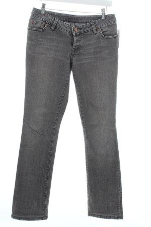 Hugo Boss Boot Cut Jeans grau Casual-Look