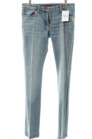 Hugo Boss Boot Cut Jeans hellblau Casual-Look