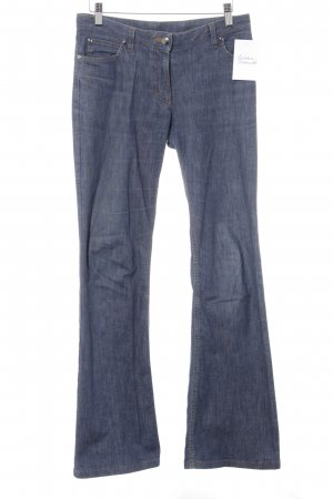 Hugo Boss Boot Cut Jeans stahlblau Casual-Look