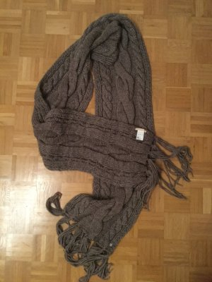 Boss Orange Woolen Scarf grey brown