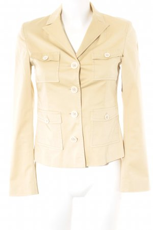 Hugo Boss Boyfriend-Blazer beige Casual-Look
