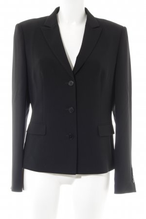 Hugo Boss Boyfriend-Blazer schwarz Business-Look