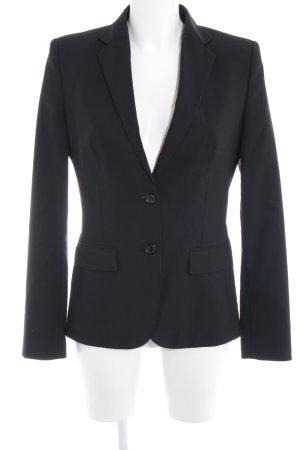 Hugo Boss Boyfriend blazer zwart simpele stijl