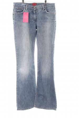 Hugo Boss Boyfriendjeans blau Casual-Look