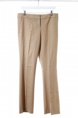 Hugo Boss Bundfaltenhose beige Business-Look