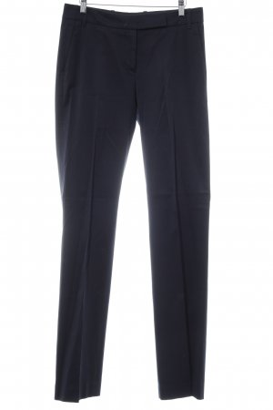 Hugo Boss Bundfaltenhose dunkelblau Business-Look