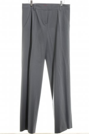 Hugo Boss Bundfaltenhose grau Business-Look