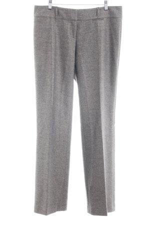 Hugo Boss Pantalone a pieghe grigio puntinato Stile Brit