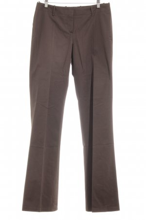 Hugo Boss Bundfaltenhose graubraun Business-Look
