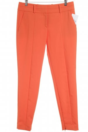 Hugo Boss Bundfaltenhose neonorange Business-Look
