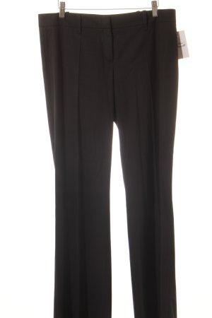 Hugo Boss Bundfaltenhose schwarz klassischer Stil